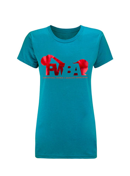 PWBA Ladies Red Foil T-Shirt