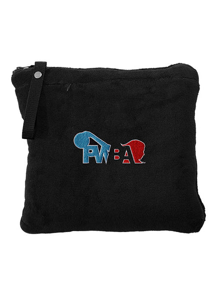 PWBA Packable Travel Blanket & Pillow