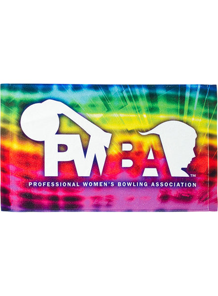 PWBA Tie-Dye Sublimated Towel