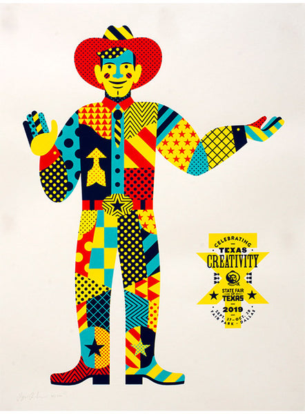 2019 Limited Edition State Fair of Texas® Theme Poster by Ryan Raschbaum