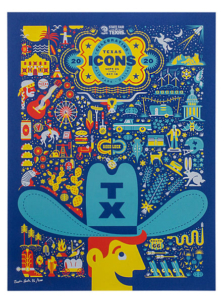 2020 Limited Edition State Fair of Texas® Theme Poster