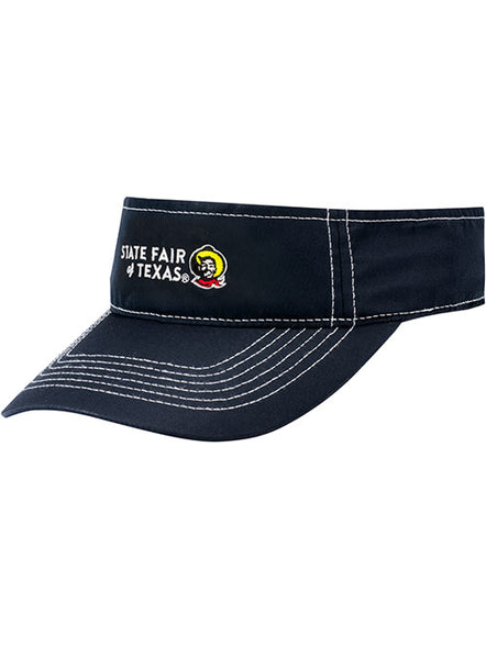 State Fair of Texas® Big Tex® Light Weight Navy Visor