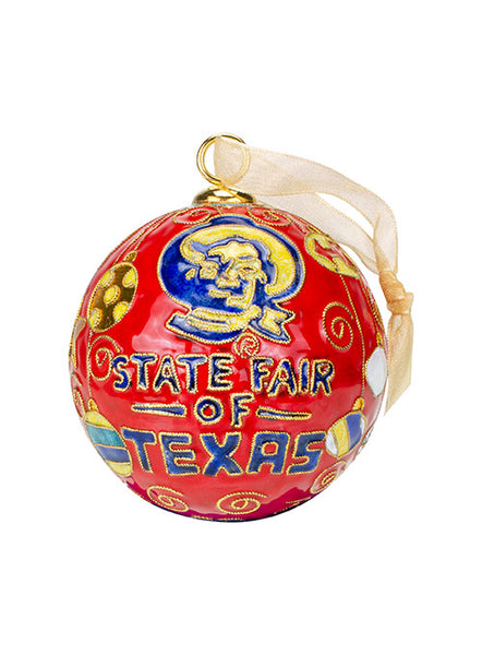 State Fair of Texas® Holiday Cloisonné Ornament