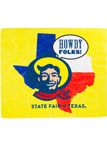 "State Fair of Texas® ""Howdy Folks!"" Sublimated Towel"