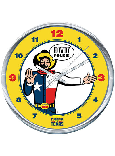 State Fair of Texas Big Tex® Wall Clock