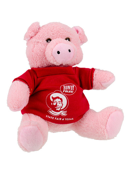 "State Fair of Texas® ""Howdy Folks!"" Plush Pig"