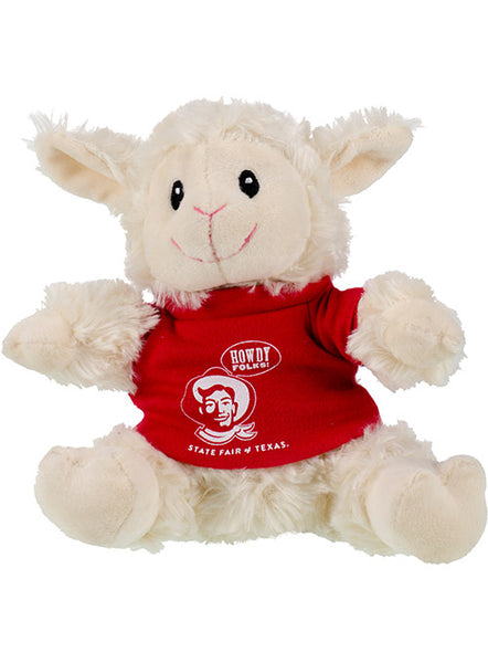"State Fair of Texas® ""Howdy Folks!® "" Plush Sheep"