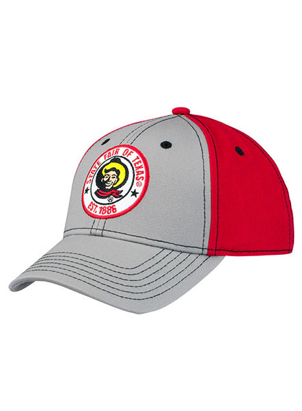 State Fair of Texas® Youth Red and Grey Patch Hat