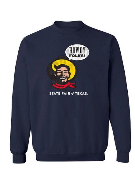 "Youth ""Howdy Folks!"" Crewneck Sweatshirt"