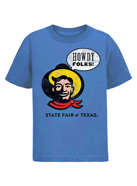 "2019 State Fair of Texas® Youth ""Howdy Folks!"" T-Shirt"