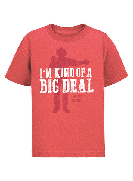 Big Tex® Big Deal Youth Heathered Red T-Shirt