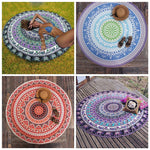 Mandala Tapestry Wall Tapestry Wall Hanging Blanket Indian Summer Beach Wrapped Skirt Tablecloths Tapestry