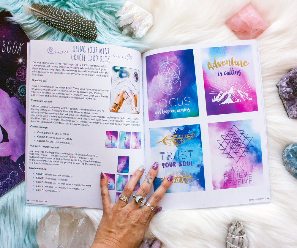 The Goddess Discovery Book // Awaken Your Inner Power + Crystal Kit Option