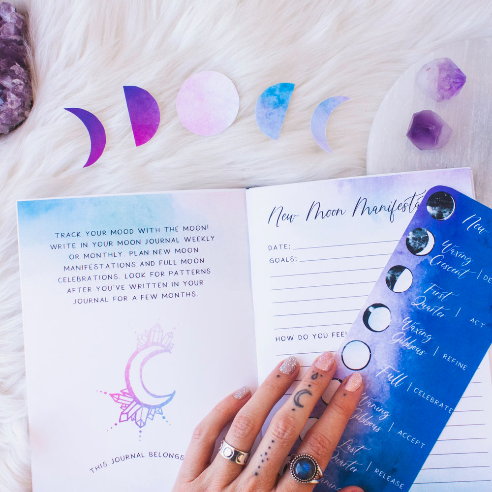 The Goddess Discovery Book V2 // Physical or Digital + Crystal Kit Option