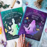 Goddess Discovery Books Bundle with V1 & V2 PHYSICAL or DIGITAL + Plus crystal kit option