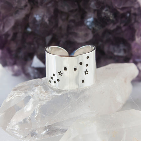 Let it go secret Aluminum Cuff ring