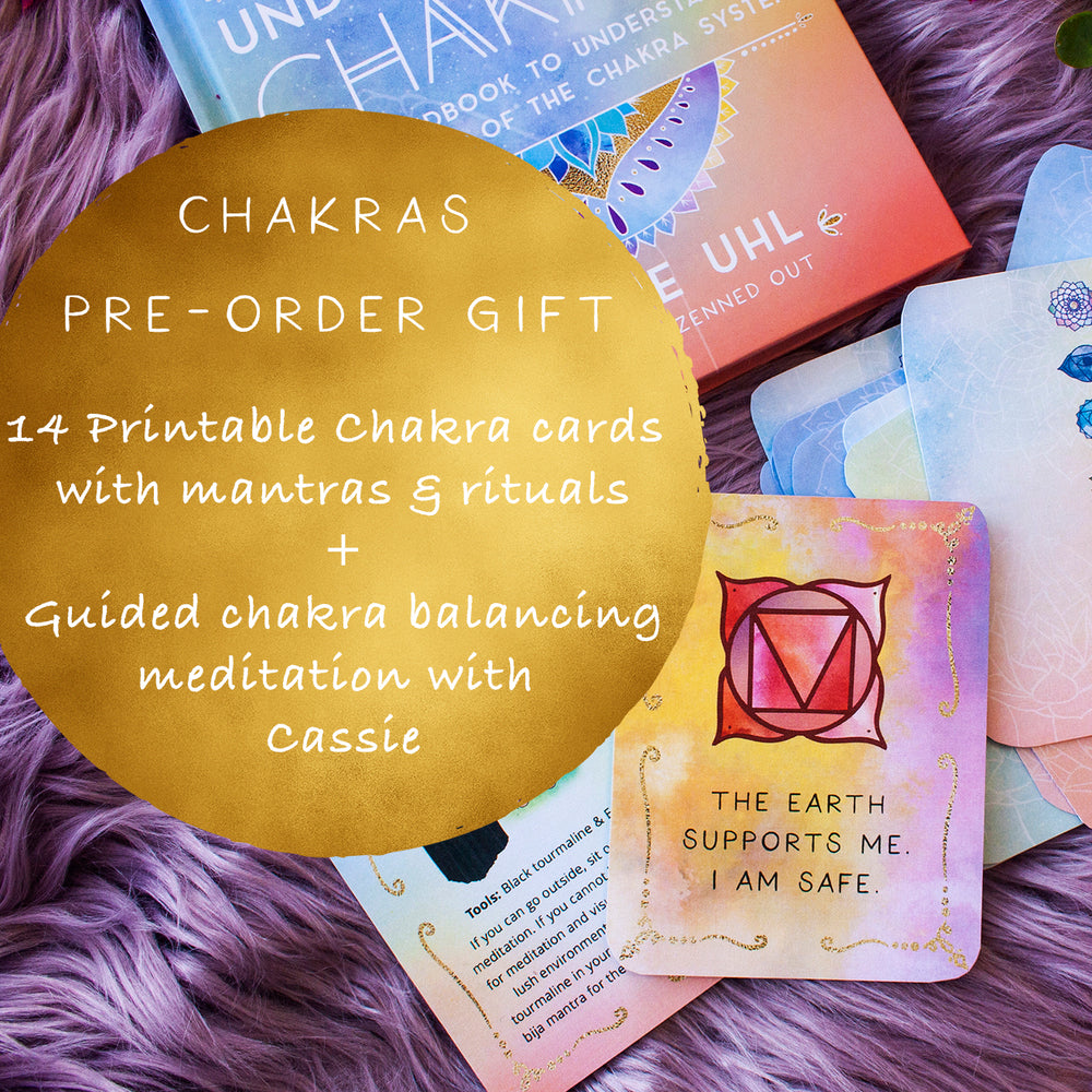 Pre-orders for the NEW Zenned Out Series // Understanding Aura, Chakras, and Crystals