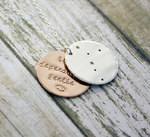 Taurus zodiac constellation necklace in sterling silver