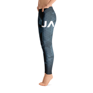 Azul Cammo Leggings