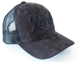 Blackout Mesh Trucker Cap
