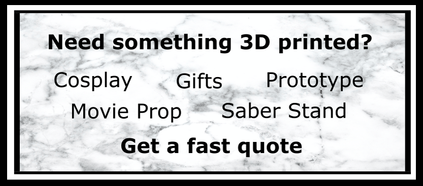 3D Prints and 3D Printing Services – Infinity 3D Prints