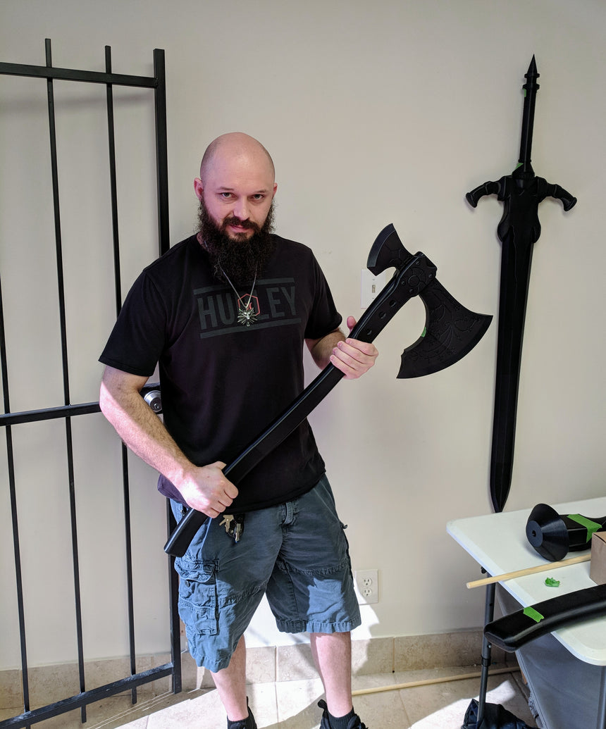 Kratos God of War Axe