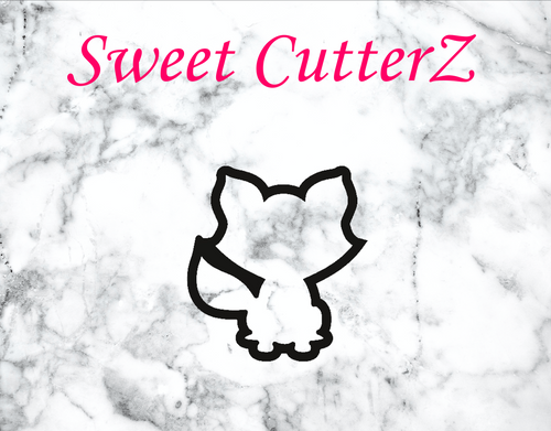 Cute fox cookie cutter