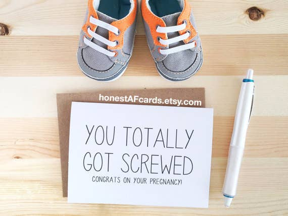 You Totally Got Screwed Card