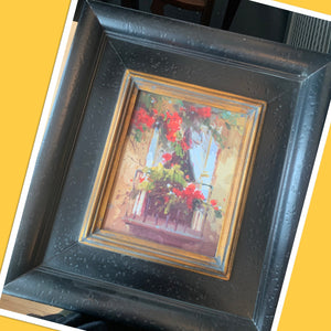 Framed Flower Photo