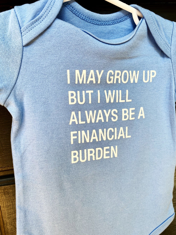 Financial Burden Body Suit