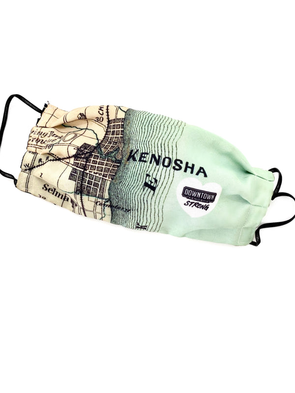 Kenosha Map Mask - Kenosha Strong