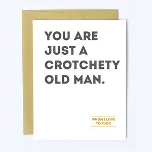 Crotchety Old Man