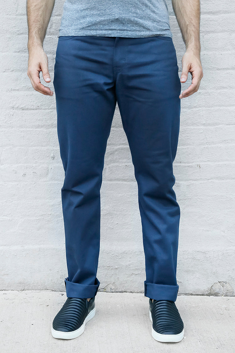 JAY Twill Navy - FITTED Underground