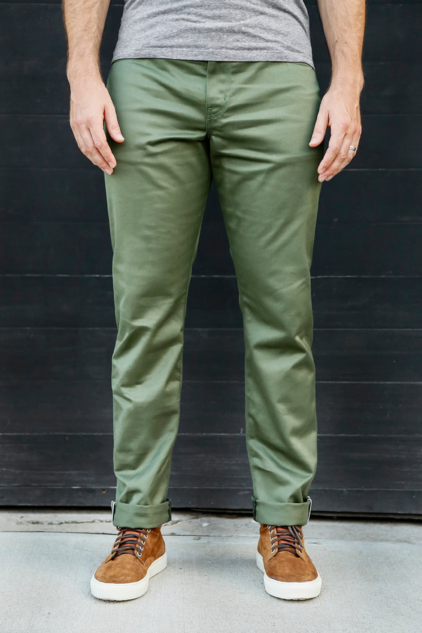 TWILL Olive - FITTED Underground