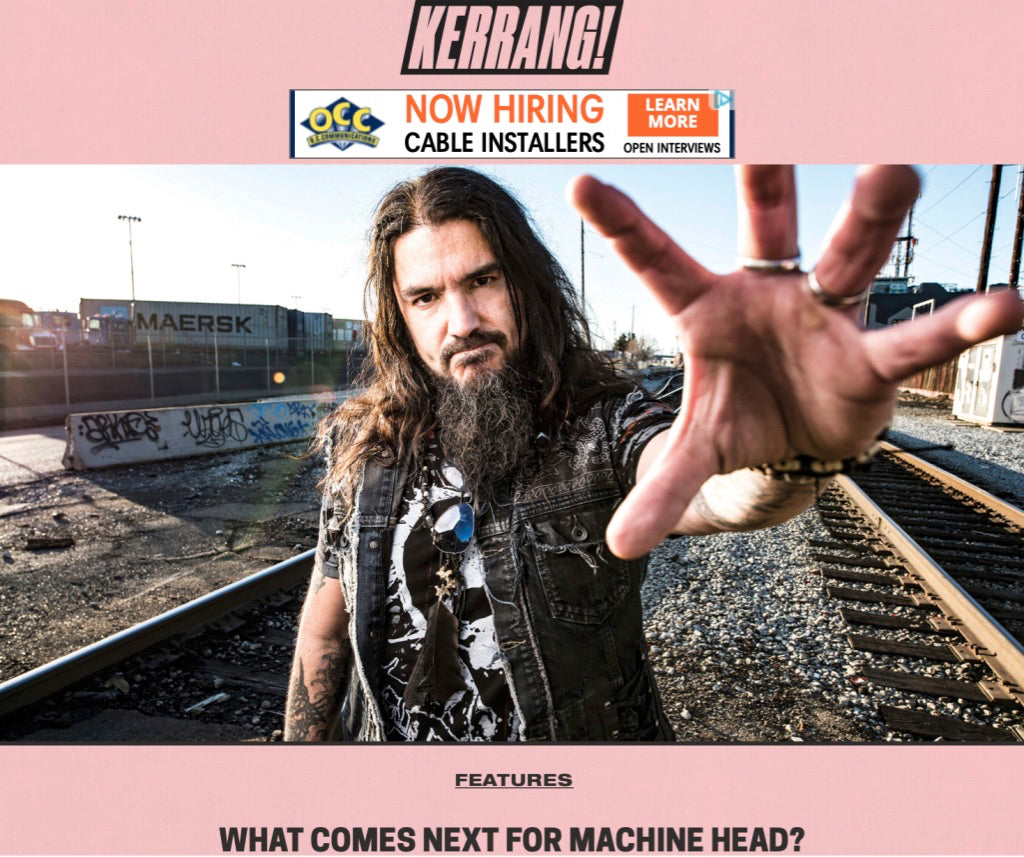 8d153fe7da3e KERRANG! magazine ponders what will Bay Area beasts Machine Head get up to  next  Here s our thoughts… Words  Sam Law Photo  Grizzlee Martin