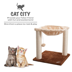 Cat Scratching Post - Beige/Brown
