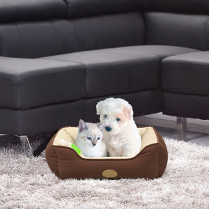 Lounger Pet Sofa Bed - Chocolate Brown
