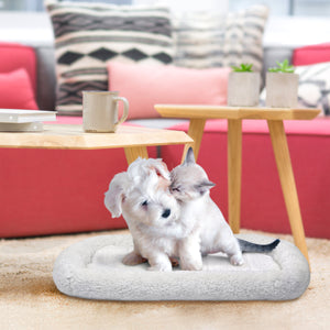 Fleece Pet Comforter Mat with Pocket