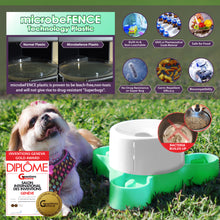 microbeFENCE® Germ-Repellent Tri-Feeder