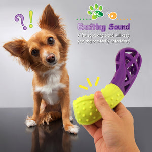 Dual Color Interactive Squeaking Bone