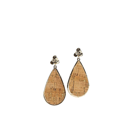 Earrings Miami Natural Cork