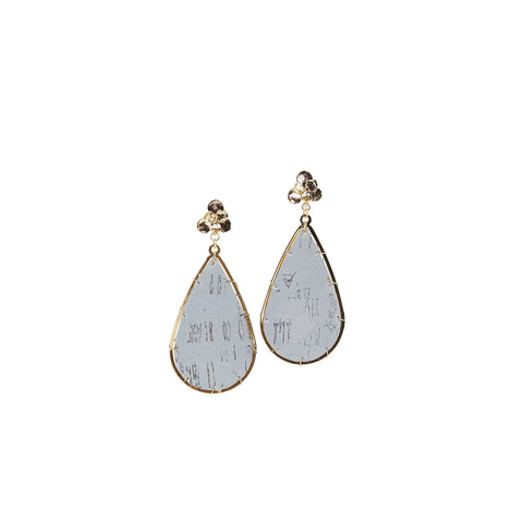 Earrings Miami Gray Cork