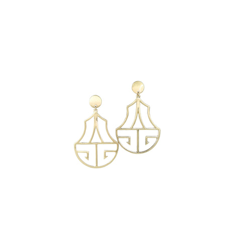 Earrings Argentina Gold
