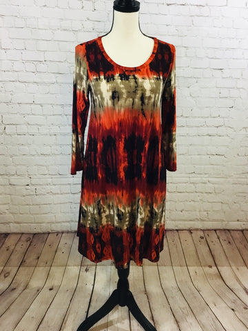 Dress Rust Multi