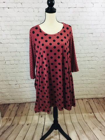 Dress Polka Dot