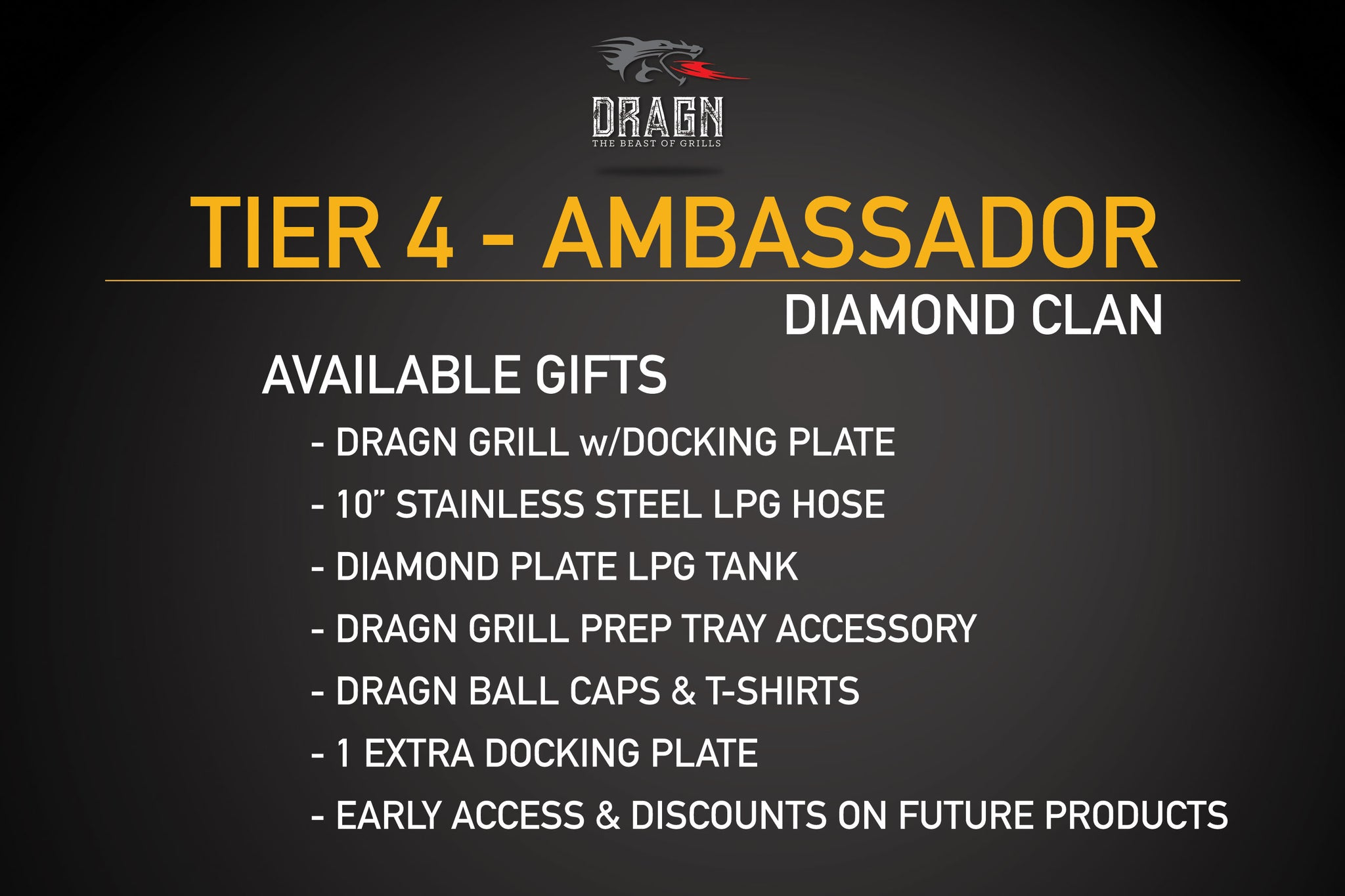 TIER 4: DIAMOND CLAN AMBASSADOR (LIMITED 100)