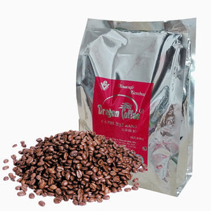 500g High Quality Vietnam Charcoal Baked Coffee beans,Dark roasted coffee
