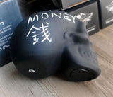Chalkboard Skull Piggy Bank/Money Bank - bottom