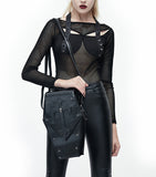 Coffin Crossbody Bag