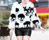 """Flawless Fur"" Skull Jacket - S-6XL"